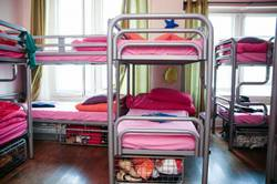 Picture of Bed in 10-Bed Female Dormitory Room with Shared Bathroom